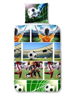 Dekbedovertrek Football 140x200/220 voetbal