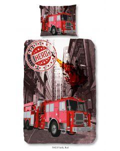 Dekbedovertrek Brandweer 140x200/220