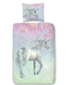 Dekbedovertrek Unicorn , paard  140x200/220
