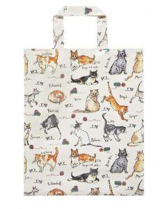 Cats MF  boodschappen tas PVC, Katten en poezen  Ulster weavers, Madeleine Floyd