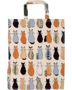 pvc tas Cats in waiting, shopper, boodschappentas pvc, ulster weavers