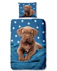 Dekbedovertrek Maddy , puppy, hondje  140x200/220 Damai incl sloop 60x70