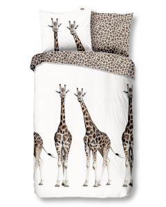 Dekbedovertrek Afrika, giraffe, giraf  print  140x200/220