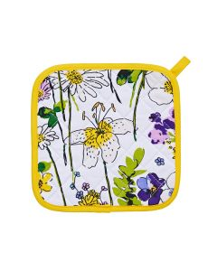Wildflower  pannenlap wilde bloemen Ulster weavers
