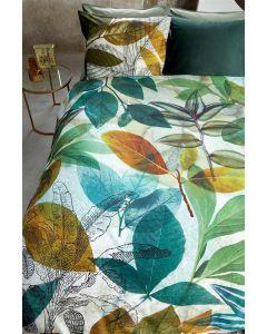 Amazonia groen, dekbedovertrek Bedding house  100%  katoen satijn