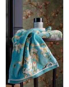 Blossom Blauw ,Beddinghouse x Van Gogh Museum,   zachte velours  badstof, diverse maten, 100% katoen