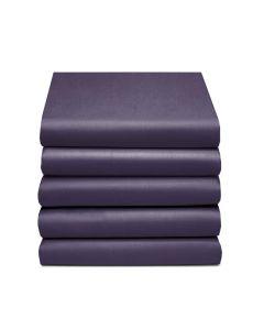 Hoeslaken Damai multiform Perkal klr 76 donker paars 100% katoen hoekhoogte 30 cm