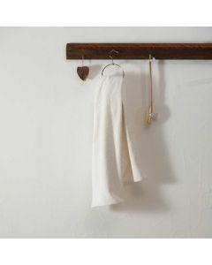 Handdoek voor de sauna Relax, in de kleur wit of naturel