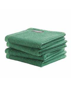 DDDDD vaatdoek 30 x 30 Uni Groen  per 4 stuks