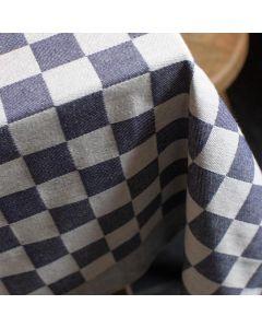 Pompdoek, geblokt Tafelkleed Barbeque 140x240  Blauw DDDDD