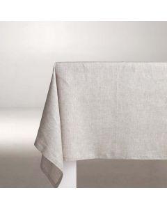 Tafelkleed Cabin, 100% linnen, kleur naturel ,DDDDD, tafellaken