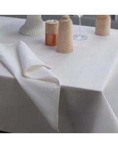 Tafelkleed Latus, damast katoen, kleur wit ,DDDDD, tafellaken