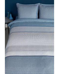 Dorette Blauw  dekbedovertrek Bedding house  100% katoen satijn
