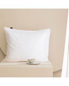 Damai kussenslopen organic satijn kleur (01) white (per paar) wit