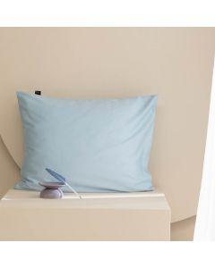 Damai kussenslopen organic satijn kleur (47) sky blue (per paar) licht blauw
