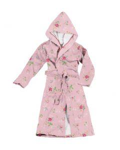 Pip badjas Granny kleur rose 100% katoen velours
