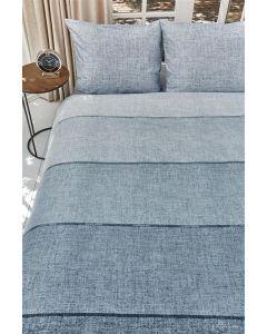 Riviera Maison - Harvey Blue 100% zachte katoen