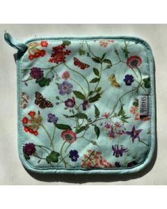 Bloemen  pannenlap Spring floral Ulster weavers