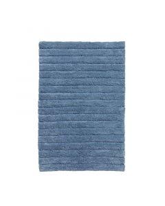 Seahorse  badmat  Board, streep   Denim blauw  zware kwaliteit 100% katoen