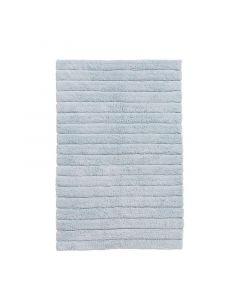 Seahorse  badmat Board, streep   Zacht blauw  zware kwaliteit 100% katoen