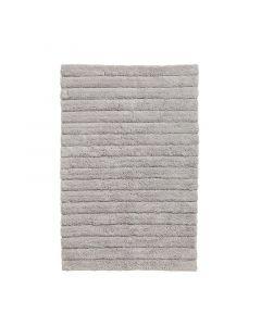 Seahorse  badmat Board, streep  licht grijs  zware kwaliteit 100% katoen