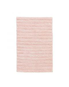 Seahorse  badmat Board, streep   Zacht rose  zware kwaliteit 100% katoen