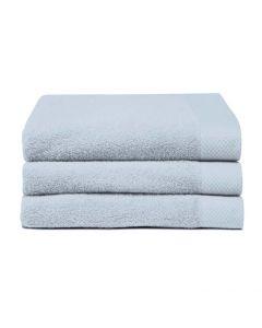 Seahorse Badgoed Pure Blue, blauw  zachte badstof, diverse maten, 100% katoen handdoek 60x110