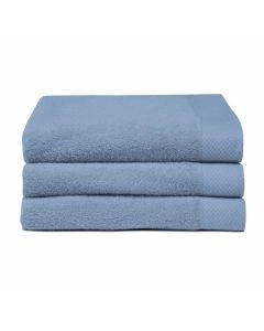 Seahorse Badgoed Pure denim blauw   zachte badstof, diverse maten, 100% katoen handdoek 60x110