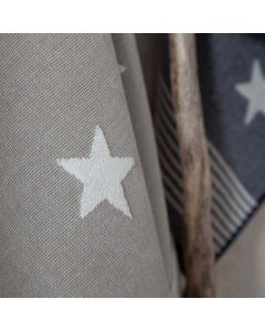 Seahorse Hotel badmat Stardust, sterren in de 3 kleuren blauw, grijs en taupe  zachte badstof, diverse maten, 100% katoen