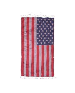 Hamam  Strandlaken  USA , stars en stripes 100x180 100% katoen