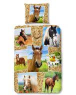 Dekbedovertrek Paard, Pony  140x200/220
