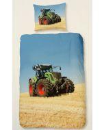 Dekbedovertrek Tractor groen Fendt  140x200/220